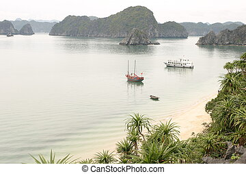 Vietnam Travel Halong Bay Beach