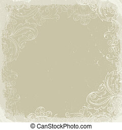 Vintage background beige