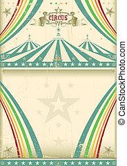Vintage circus background