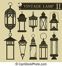 Vintage lamp II