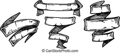 Vintage ribbon