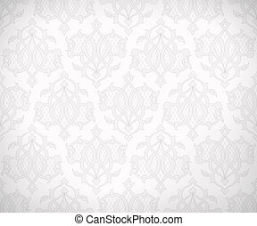 Vintage seamless pattern for background design