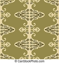 Vintage seamless pattern for retro wallpapers