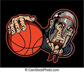 warriors basketball mascot