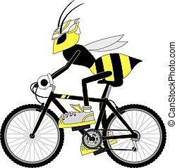 Creative design of wasp bike