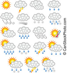 weather forecast business icon