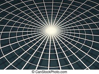 Illustration of web
