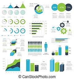 Web infographic elements vector