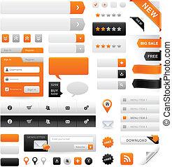 Website Graphics Set