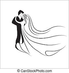 Wedding logotype.