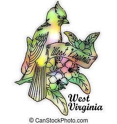 West Virginia state bird