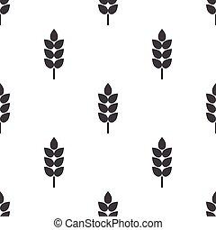 wheat icon on white background