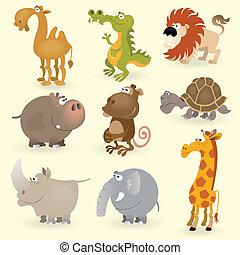 Wild animals set #1