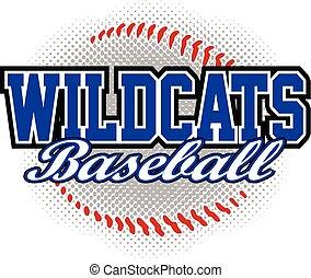 Wildcats Baseball Design