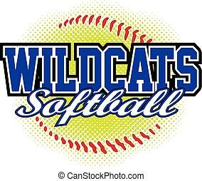 Wildcats Softball Design