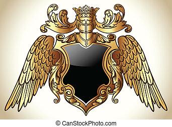 Winged Emblem Gold