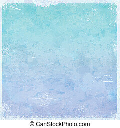 Winter ice themed grungy retro abstract background