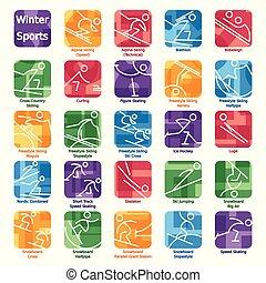 winter olympics icons2