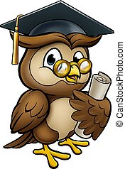 Wise Owl Graduate Character