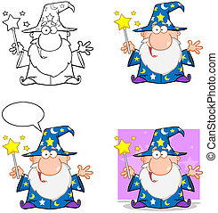 Wizard Characters. Collection.3