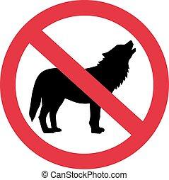 Wolves forbidden