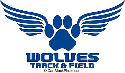 wolves track and field