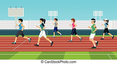 women is runner