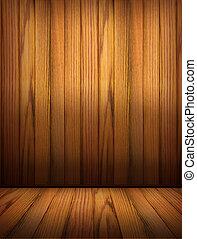 Wooden background for design.