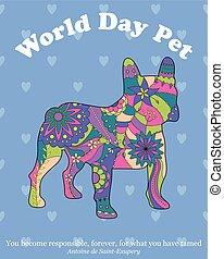 World day pet background