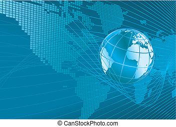world map globe background
