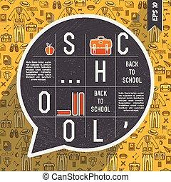 Yellow School Composition