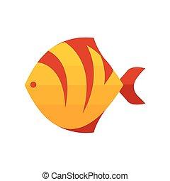 yellow Tiger fish
