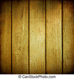 Yellow wood planks texture weathered.