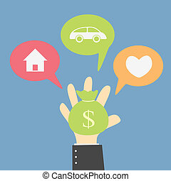 your money choice to buy your dream