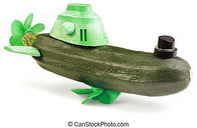 Zucchini Submarine